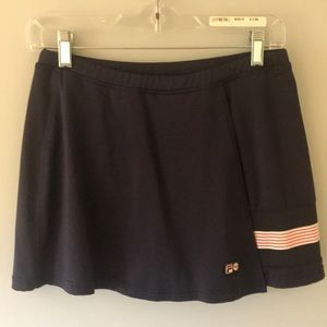 Fila exercise, run around, or tennis skirt